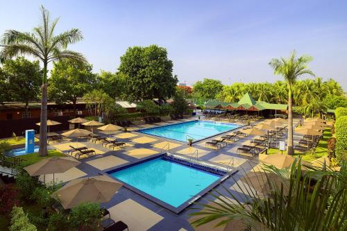 A view of the pool at Sheraton Abuja Hotel or nearby