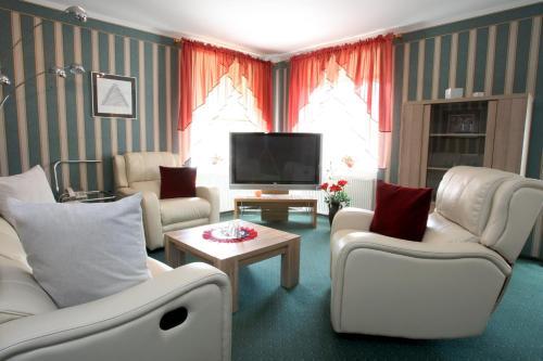 Istumisnurk majutusasutuses Katariina Guesthouse