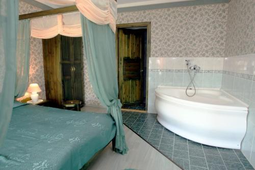 Vannituba majutusasutuses Katariina Guesthouse