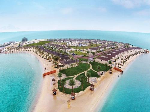 Uma vista aérea de Dana Beach Resort