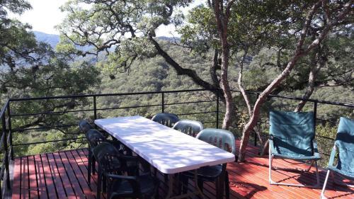 Un balcón o terraza en LA AGÜITA PERDIDA