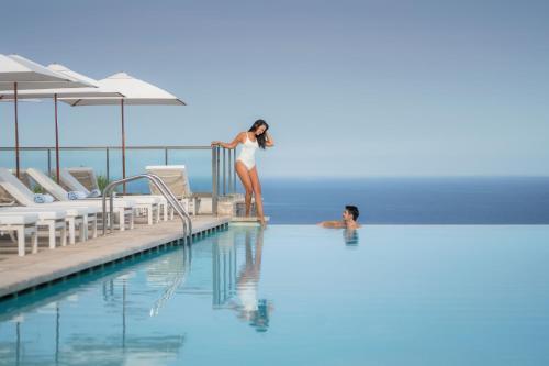 Piscine de l'établissement Jumeirah Port Soller Hotel & Spa ou située à proximité