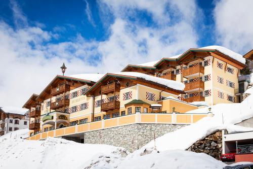 Apparthotel Hubertus im Winter