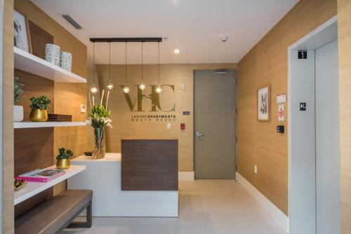 The lobby or reception area at VHC Luxury Apartments