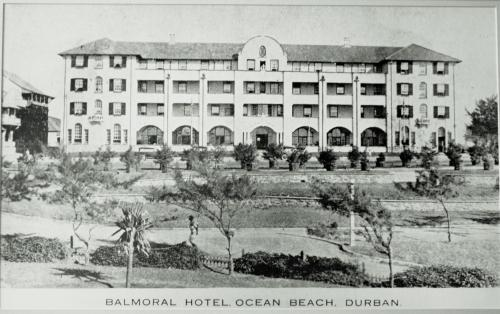 The Balmoral during the winter