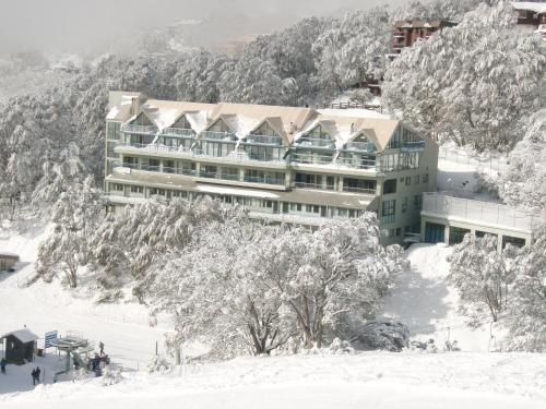 Falls Creek Country Club during the winter