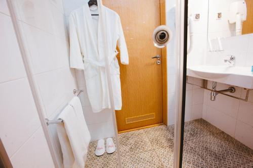 Ванная комната в Гостиница Торгай