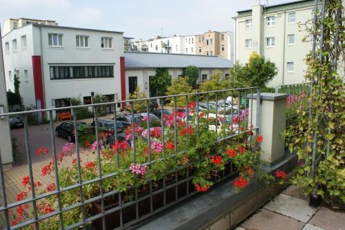 A balcony or terrace at The Royal Inn Regent Gera