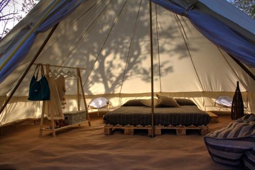 Letto o letti in una camera di Shauri Glamping