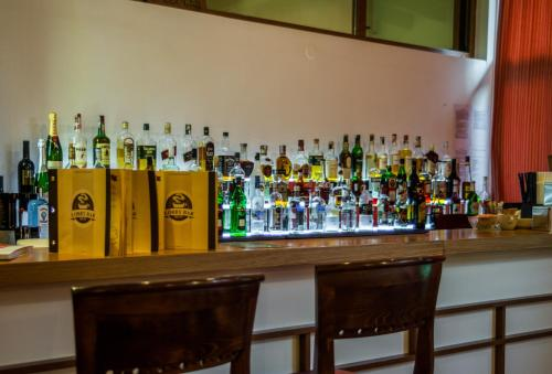 The lounge or bar area at Platinum Hotel and Casino Bansko