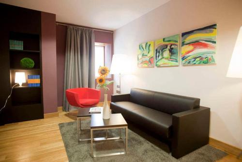 Zona de estar de Hotel Dolarea