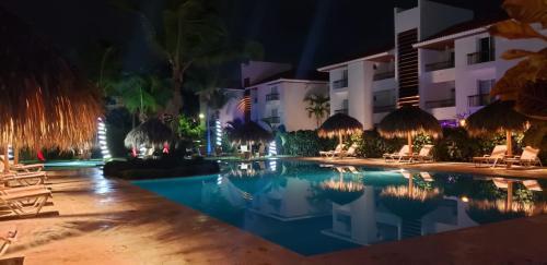 The swimming pool at or near Karibo Punta Cana
