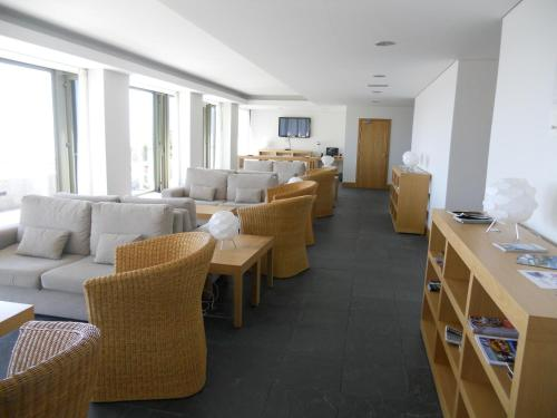 A restaurant or other place to eat at Azores Youth Hostels - Sao Jorge