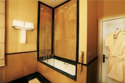 Ein Badezimmer in der Unterkunft Divan Cukurhan