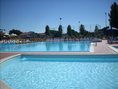 The swimming pool at or near Villaggio Mare Si
