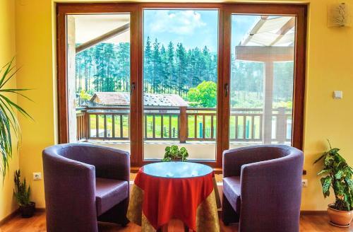 Кът за сядане в Guest House Panorama 3D