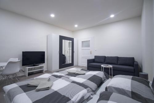 Posezení v ubytování Apartments Susilova