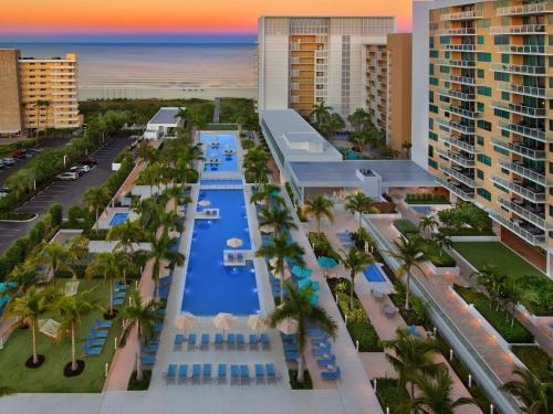 A view of the pool at Marriott's Crystal Shores or nearby