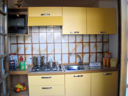 Cucina o angolo cottura di Appartamento Il Nido