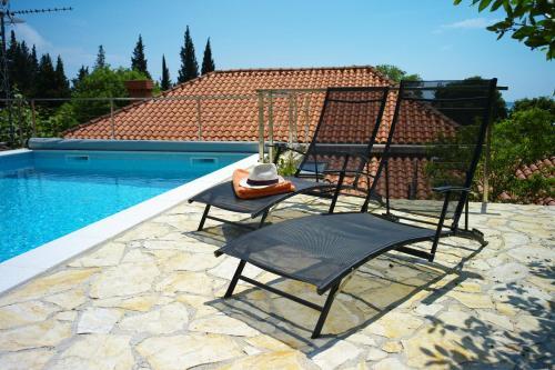 The swimming pool at or close to Villa Vinki