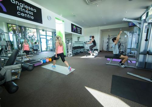 The fitness center and/or fitness facilities at Great Ocean Road Resort