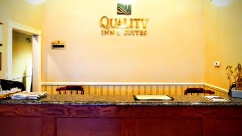 A bathroom at Quality Inn & Suites 1000 Islands