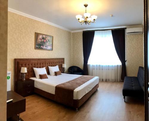 Кровать или кровати в номере Argo