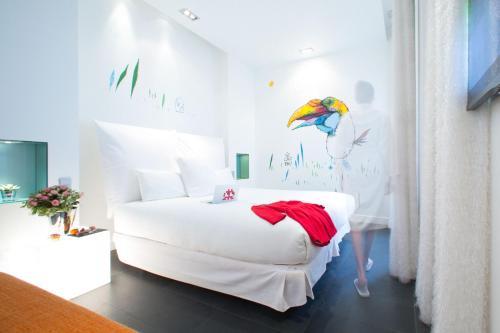 Cama ou camas em um quarto em 1K Paris