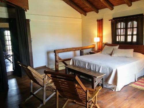 Una cama o camas en una habitación de La Matilda