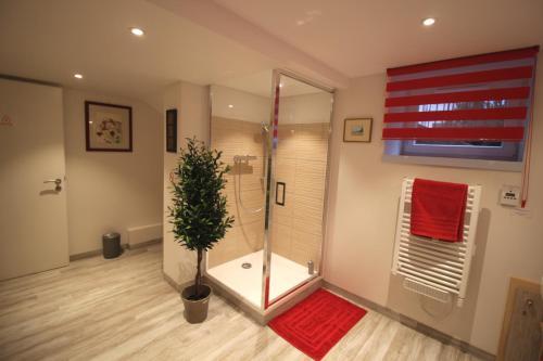 A bathroom at Confort et calme à Colmar