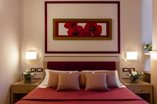 A bed or beds in a room at Kora Park Resort
