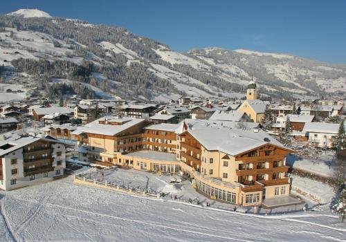 Landhotel Schermer during the winter