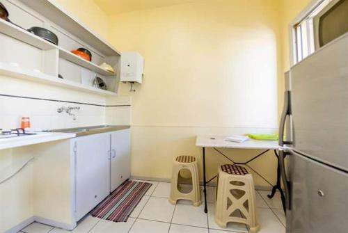 A kitchen or kitchenette at Grand Motel Anse Vata