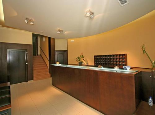 The lobby or reception area at Hotel O Cruceiro