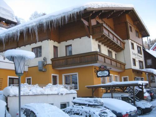 Gasthof zum Kaiserweg v zimě