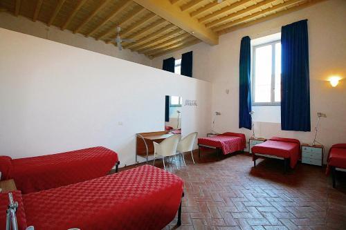 Coin salon dans l'établissement Orsa Maggiore Hostel seulement pour Femmes