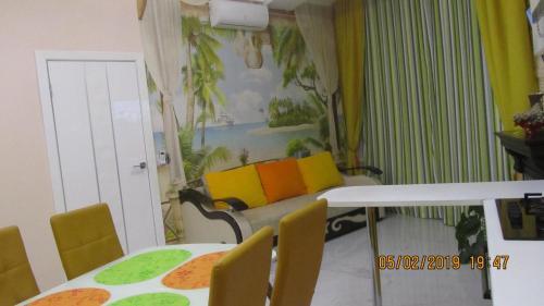 Гостиная зона в Apartment on Krymskaya 19