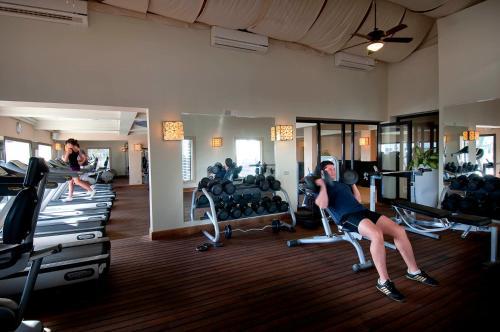 Het fitnesscentrum en/of fitnessfaciliteiten van Sentido Reef Oasis Senses Aqua Park Resort