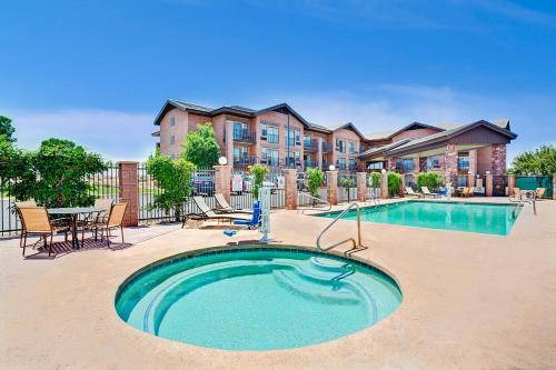 The swimming pool at or near Days Inn & Suites by Wyndham Page Lake Powell