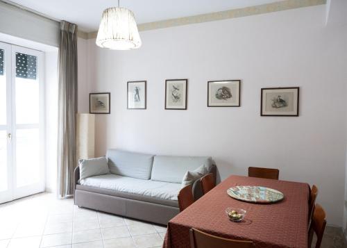 A seating area at La Casa di Alessandra, Salerno Centro
