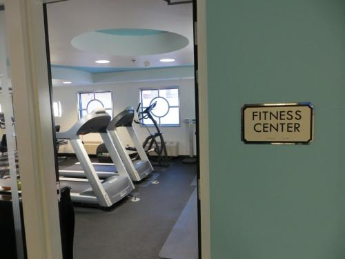 The fitness center and/or fitness facilities at El Cortez Hotel & Casino