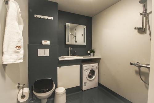 Koupelna v ubytování Spot Apartments Uusmäki