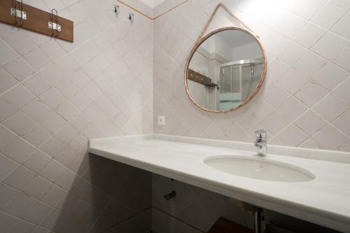 A bathroom at Bibo Casas del Albaicín