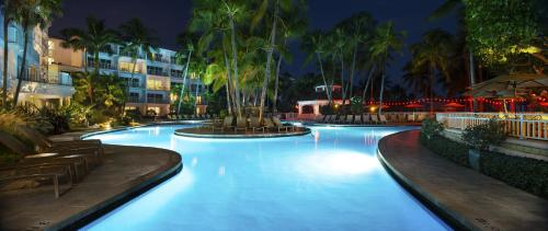 The swimming pool at or near The Lago Mar Beach Resort and Club