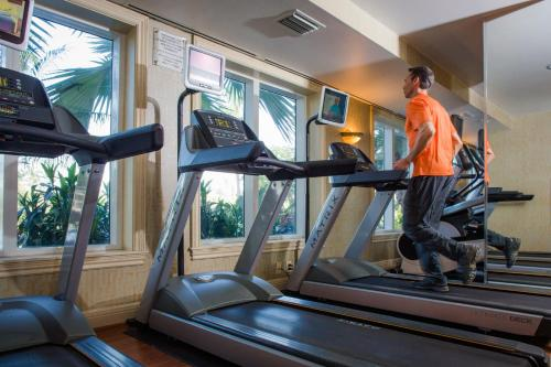 The fitness center and/or fitness facilities at The Lago Mar Beach Resort and Club