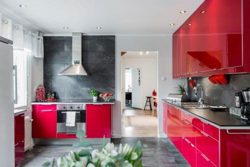 Cucina o angolo cottura di Landvetter BnB