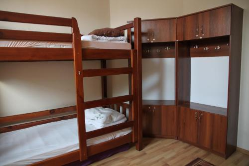 A bunk bed or bunk beds in a room at Lions Heart Hostel