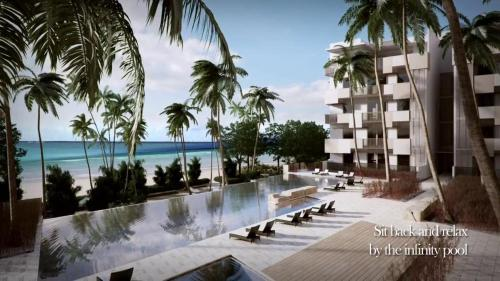 The swimming pool at or close to By The Sea-Ferringhi Fully Seaview Suite 6-10ppl 槟城全海景度假屋 5 Star