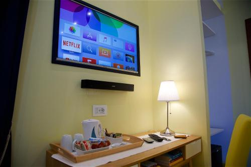 TV o dispositivi per l'intrattenimento presso Il Giardino Segreto