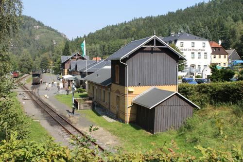 A bird's-eye view of Hotel am Berg Oybin garni